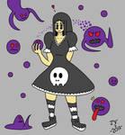 Creepy Girl! by jonatav007