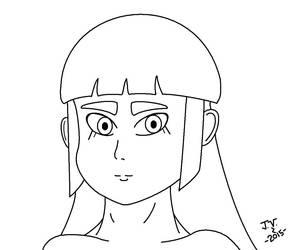 Kizashi Miyazaki Portrait - Line art by jonatav007