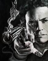 Clint Eastwood Drawing by JamiePickering