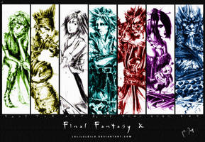 Final Fantasy X wallpaper by laliluleilo