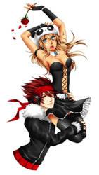 Killua and Kyrie by r3mmel