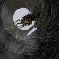 Deamon spider SketchThis by SvartabergetArt