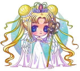 Chibi Queen Serenity by Chama