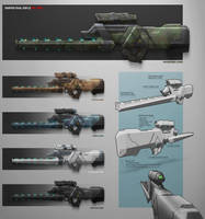 Sniper Rail Rifle by RadVisual