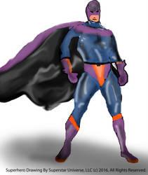 Super Hero Attempt 2 by SuperstarUniverseLLC