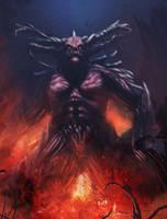 Demonic Beast by Joel-Lagerwall
