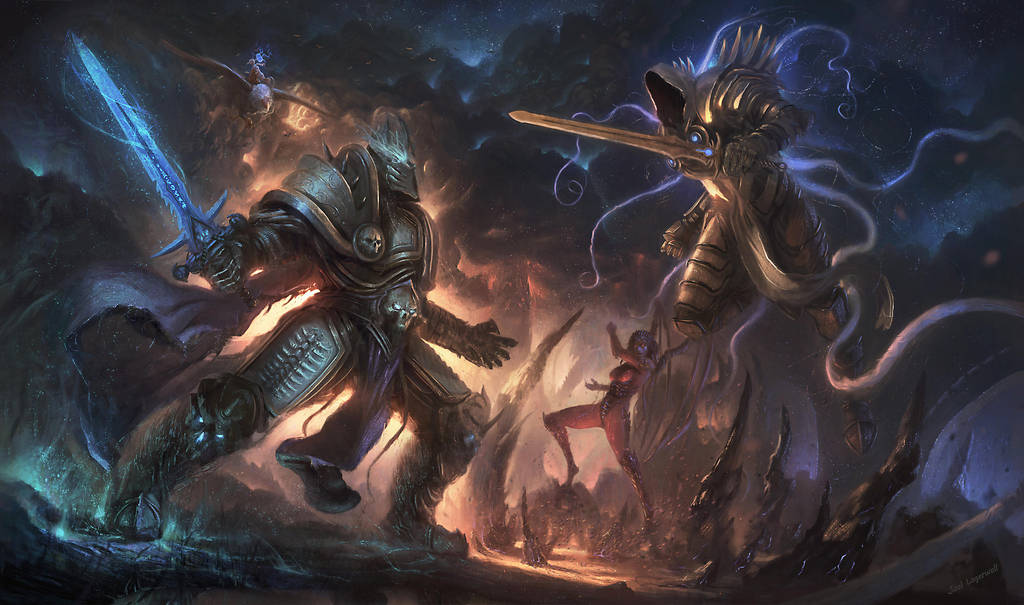 Heroes of the Storm: Heat of Battle by Joel-Lagerwall