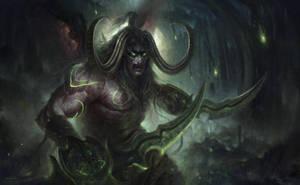 Illidan World of Warcraft by Joel-Lagerwall