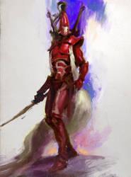 rough sketch 30 min/eldar/warhammer by Joel-Lagerwall