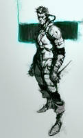 quick sketch metal gear by Joel-Lagerwall