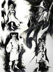 sketches by Joel-Lagerwall