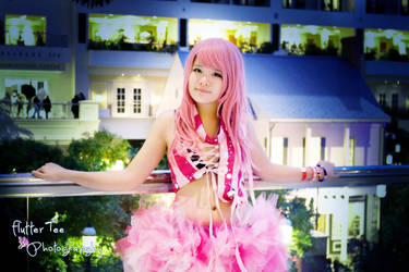Welcome - Megurine Luka - Vocaloid Rave Outfit by Miss-mimiko