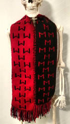 Markiplier and LordMinion777 double-knit Scarf by SofiStrange