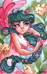 Cute Mermaid by Mystinaa
