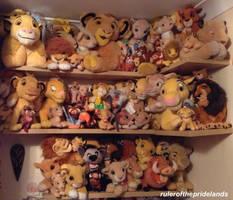Lion King Plushies! by rulerofthepridelands