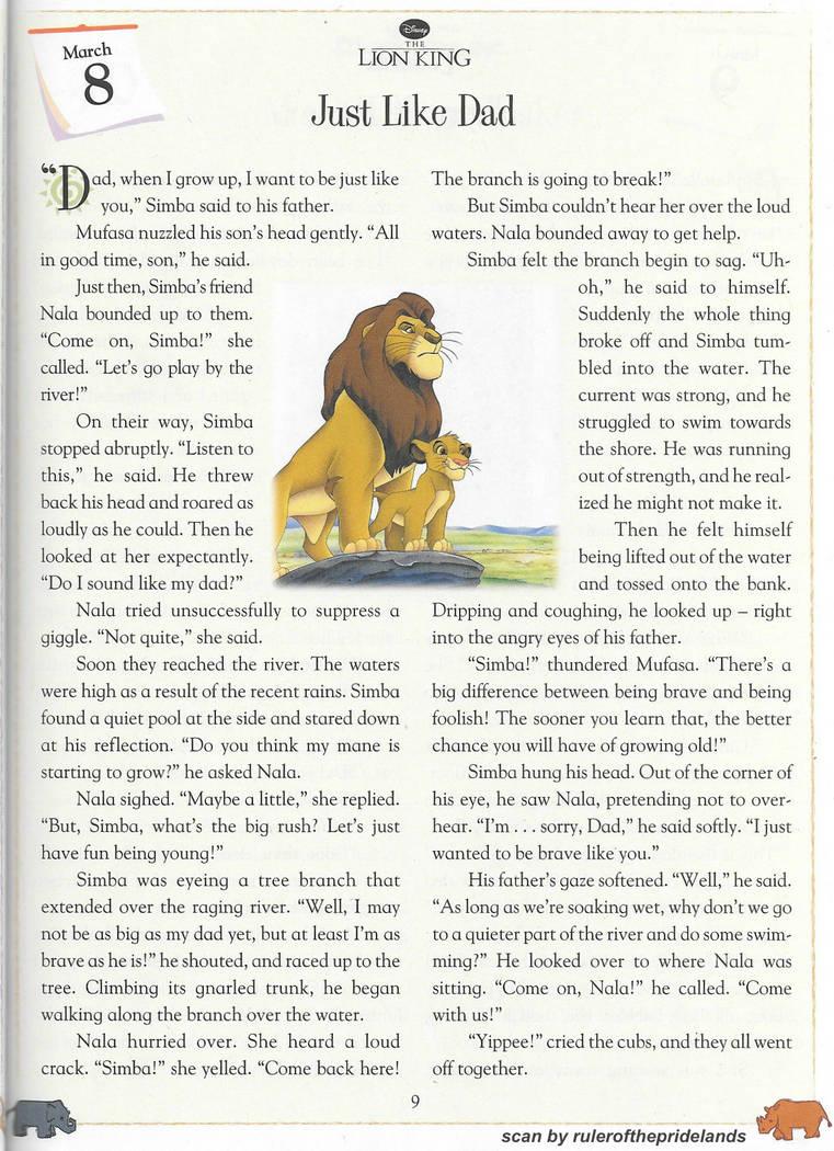 lion king short story