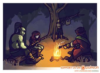 Aikonia - Campfire by Riftmaw