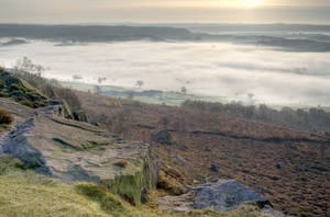 Mists over Curbar No2 by Lazlowoodbine2010
