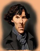 Sherlock Holmes Caricature by Steveroberts