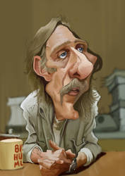 Matthew McConaughey caricature by Steveroberts