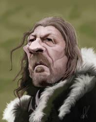 Eddard 'Ned' Stark Caricature by Steveroberts