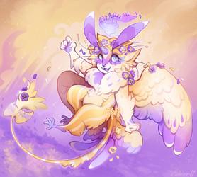 {Custom} Flight of the Pansies by AgentCorrina
