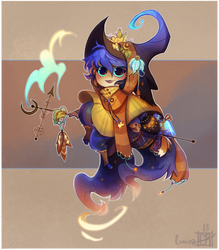 a wizard who could fit in your pocket by AgentCorrina