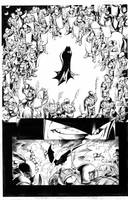 darkest knight capullo inked by supernoobinks