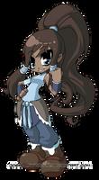 Avatar Korra by JoeOiii