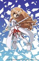 Sword Art Online Asuna by JoeOiii