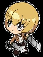 Attack on Titan Armin by JoeOiii