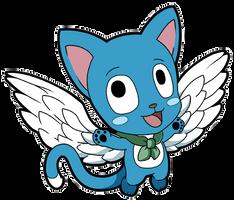 Fairy Tail Happy by JoeOiii