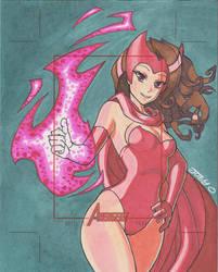 World's Greatest Heroes AP Scarlet Witch by JoeOiii