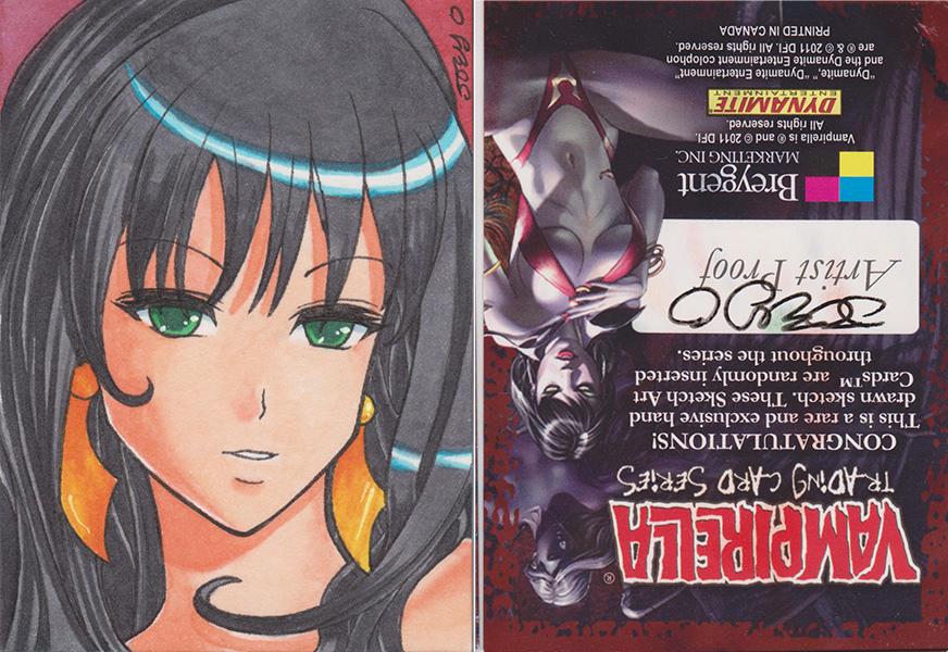 Vampirella Series 1 AP 01 by JoeOiii