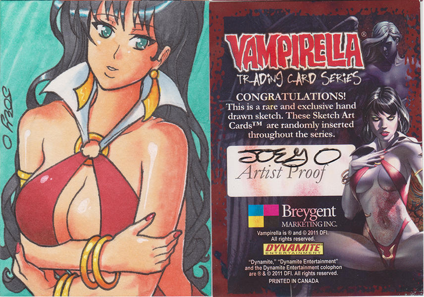 Vampirella Series 1 AP 03 by JoeOiii