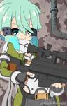 Sword Art Online II Gungale Online Shinon by JoeOiii