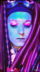 Neon Venusian. by Cyberpink-Monster