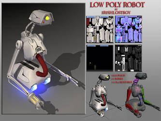 robot model by irishlostboy by 3d-studio-max
