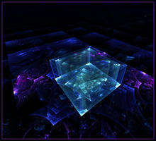The Emerald Cube by pondcypress