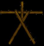 Blair Witch Stick Figure by Keikonium