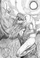 The God of the Black stone by jackrezz