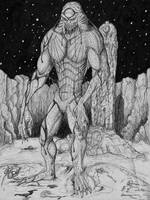 The hideous Dagon by jackrezz