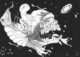 Random Outer God II by jackrezz