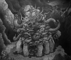 The Dunwich Horror by jackrezz