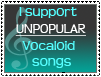 Unpopular Vocaloid songs by Pikaripeaches