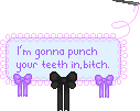 Im gonna punch your by F-FREAK