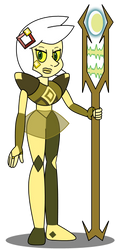 Possible Yellow Diamond maybe? by GamingInGreen13