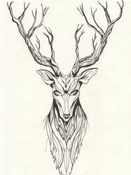 Deer by KelHur