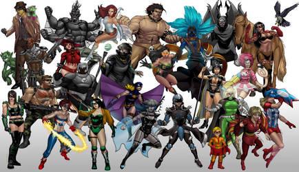 New Millennium Comics by Mmbseven