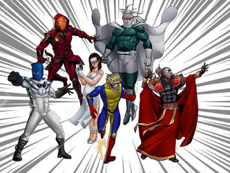 New Millennium Comics Characters II by Mmbseven